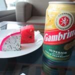ホーチミンのApricot Loungeでベトナムビール333を飲みながら旅の思い出にふける