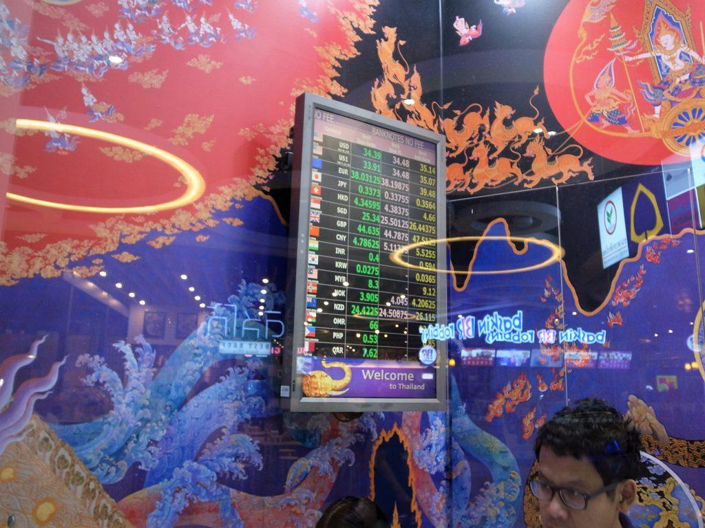 サイアムコマーシャル銀行レート