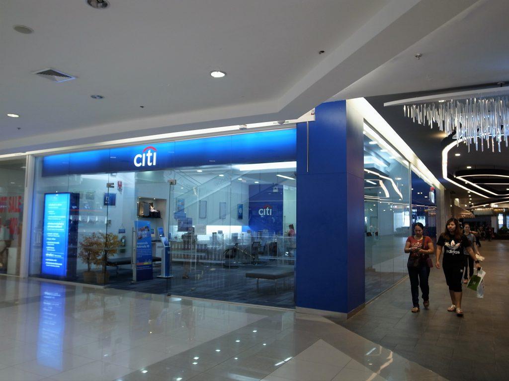 バンコク フューチャー・パーク・ランシット(Future Park Rangsit)CITY銀行