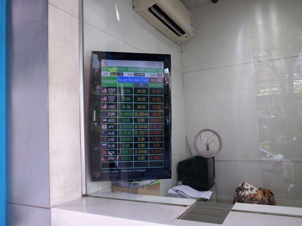カシコン銀行レート-1