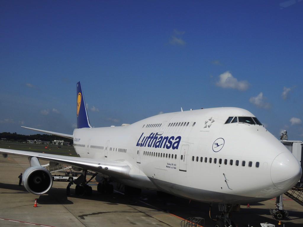 ルフトハンザ航空の機体