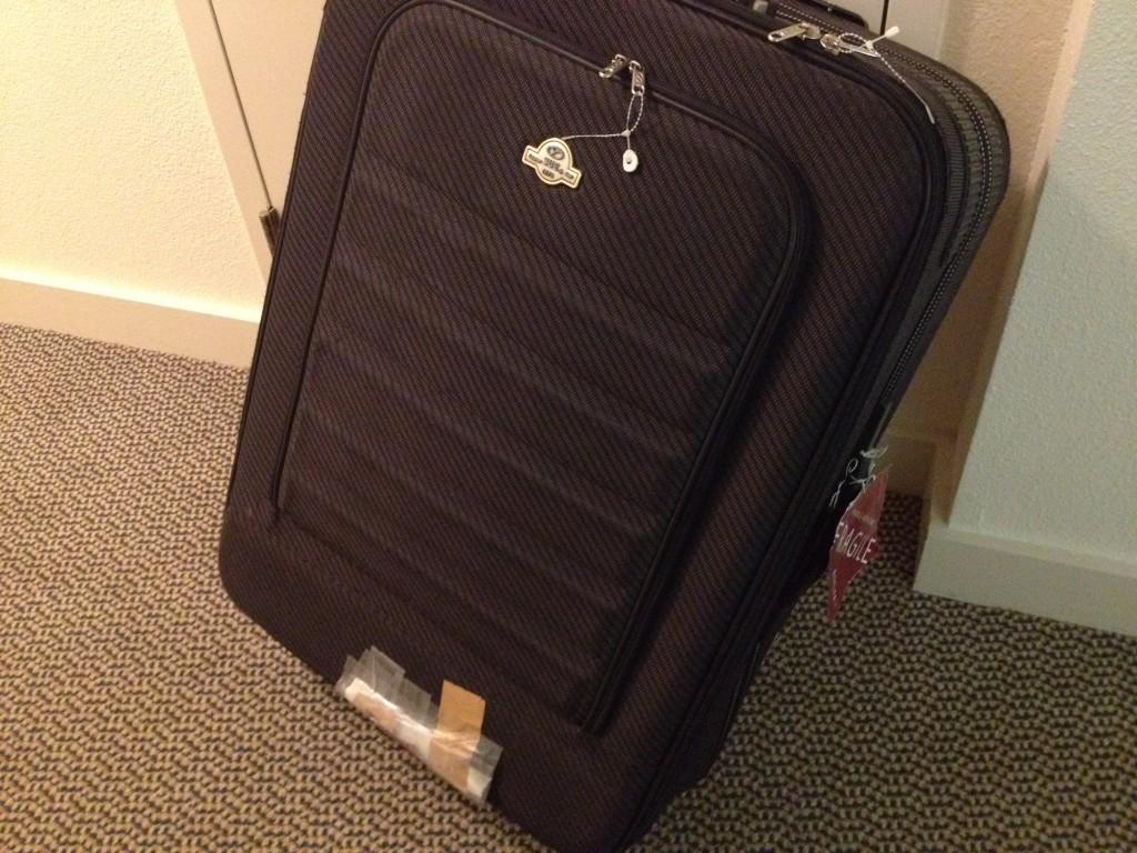 スーツケースが壊れたが保険を使って無料で修理