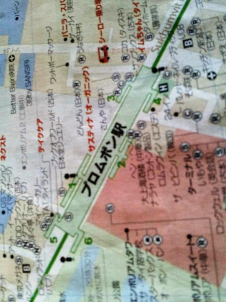 プロンポンの地図 (1)