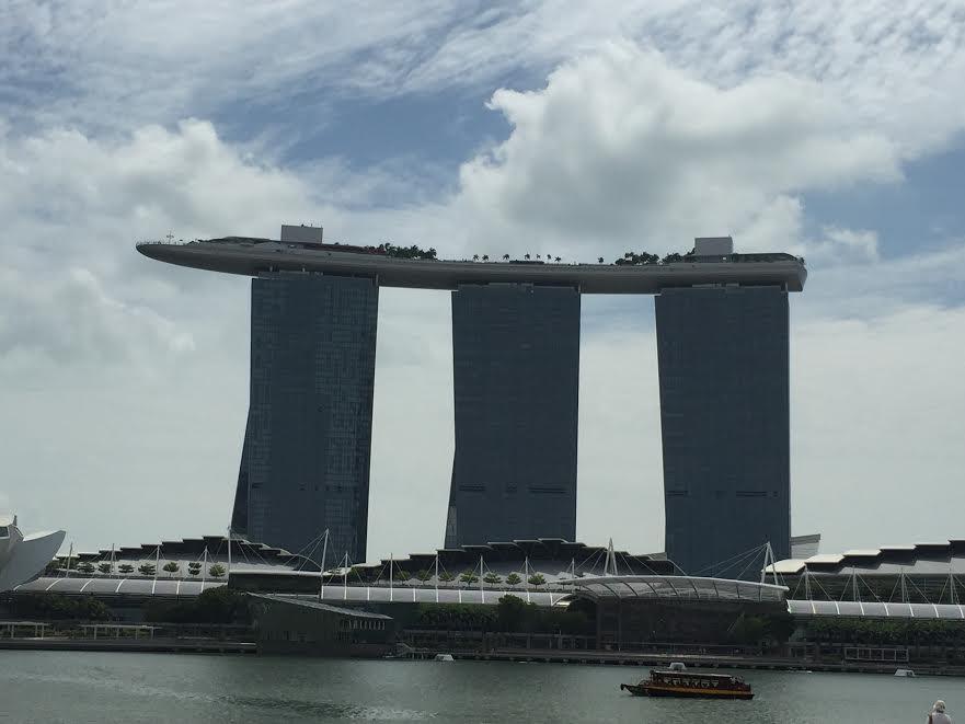 ANA JCBカードのマイレージでシンガポール旅行。