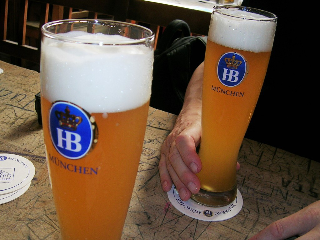 ミュンヘン、ドイツビール