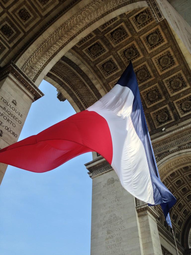 フランス パリの凱旋門1
