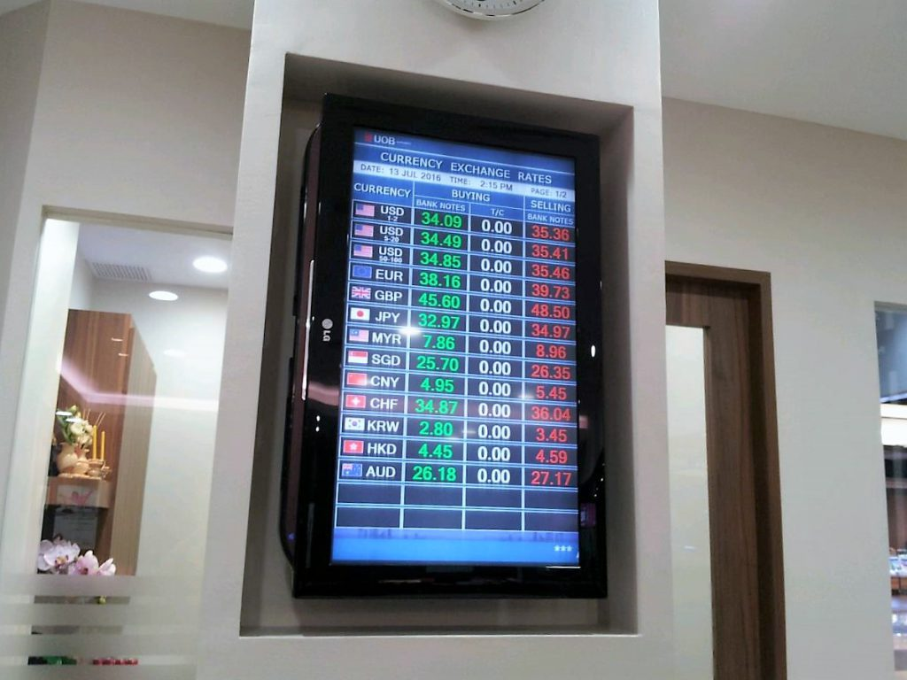 大華銀行レート