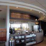 ベルファスト国際空港「Causeway Lounge」は静かで落ち着いた雰囲気