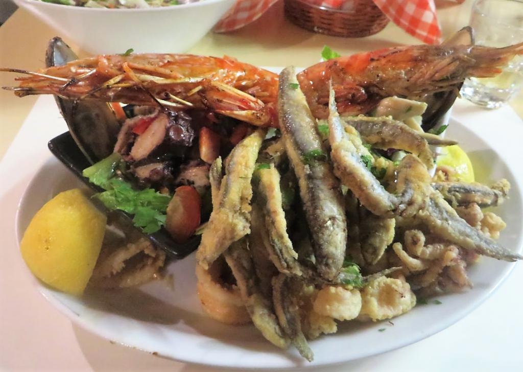 海鮮が安くて美味しい