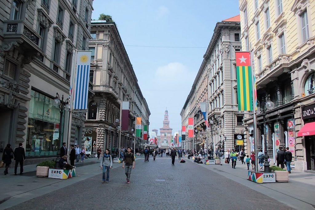 ミラノ市内