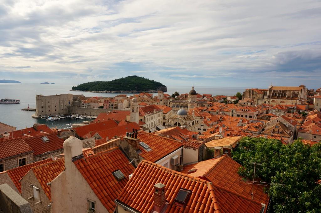 クロアチアの町並