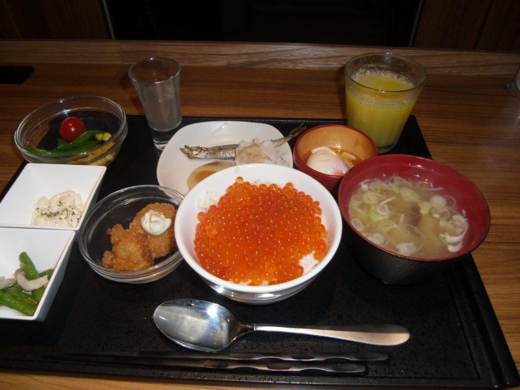 ドーミーインPREMIUM札幌の朝食