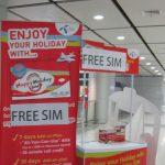 """バンコクで空港配布のSIMカード""""DTAC Happy Holiday SIM""""を使ってみました。"""