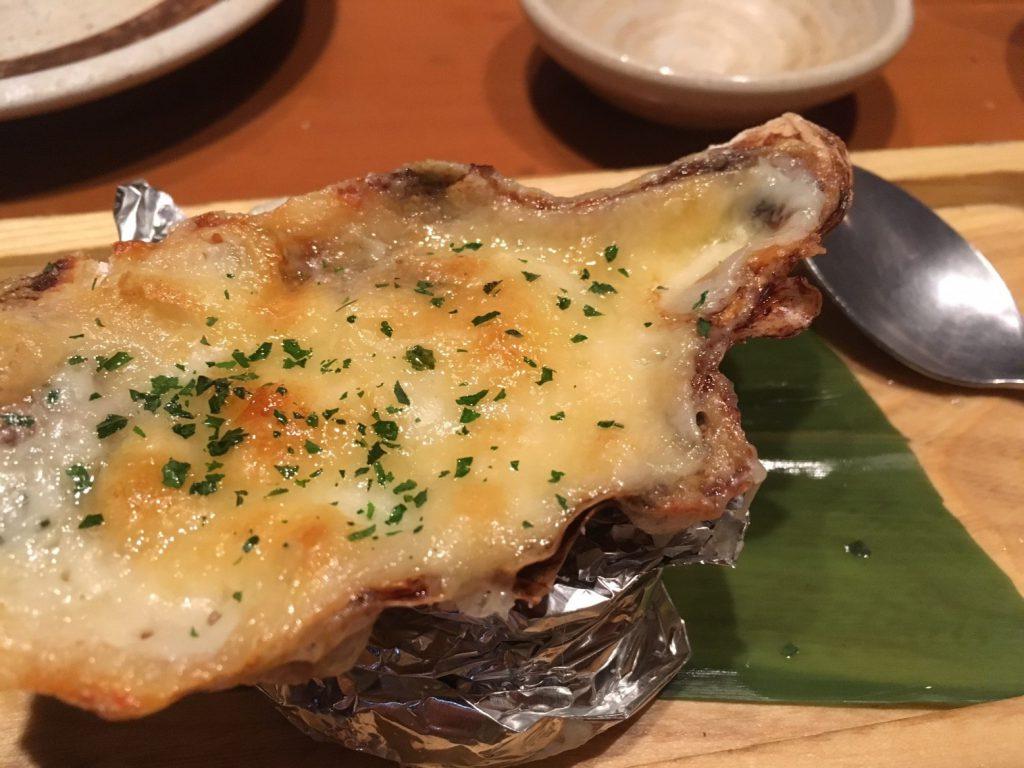 2日目の夜 牡蠣のグラタンがおいしかった!