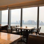 杭州钱江新城万豪酒店(Hangzhou Marriott Hotel Qianjiang)のエグゼクティブラウンジの模様をお伝えします