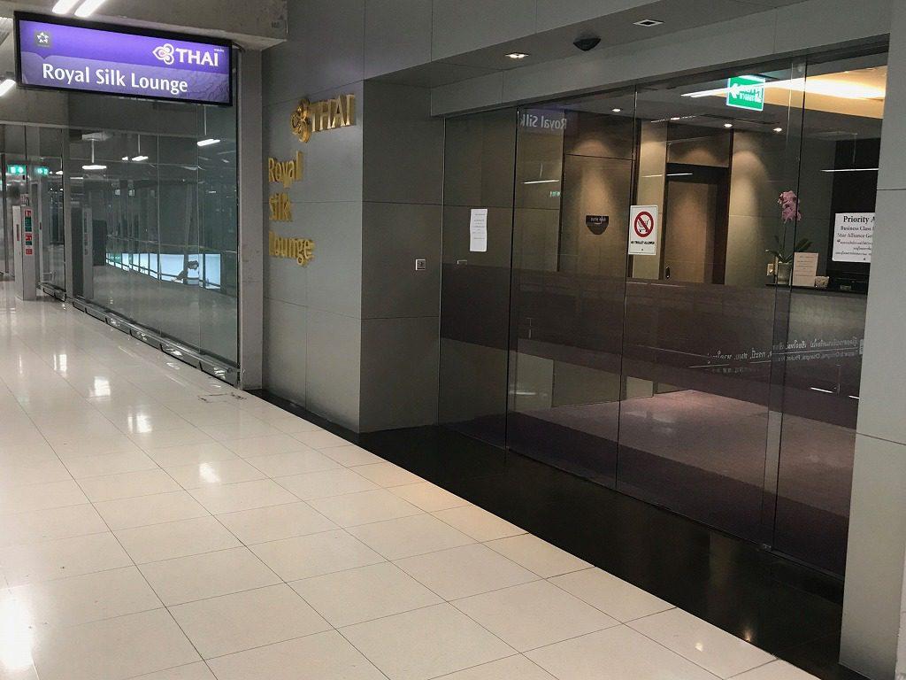 タイ・スワンナプーム空港(BKK)のタイ国際航空(TG)ロイヤルシルクラウンジ