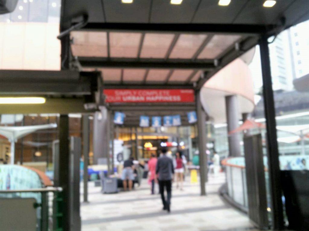 BTSエカマイゲートウェイ通路2