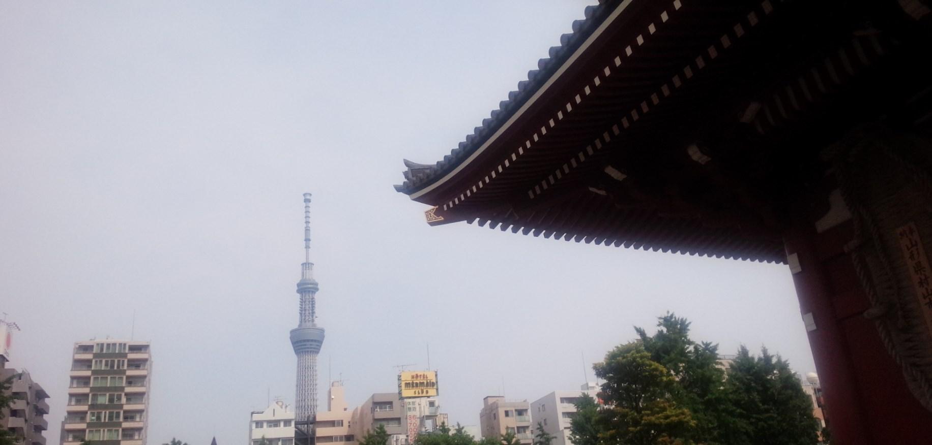 マイルを使った特典航空券で日帰り東京旅行