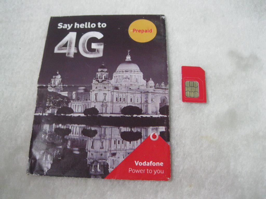 インドで初めてのSIMカード購入はとっても簡単でした。