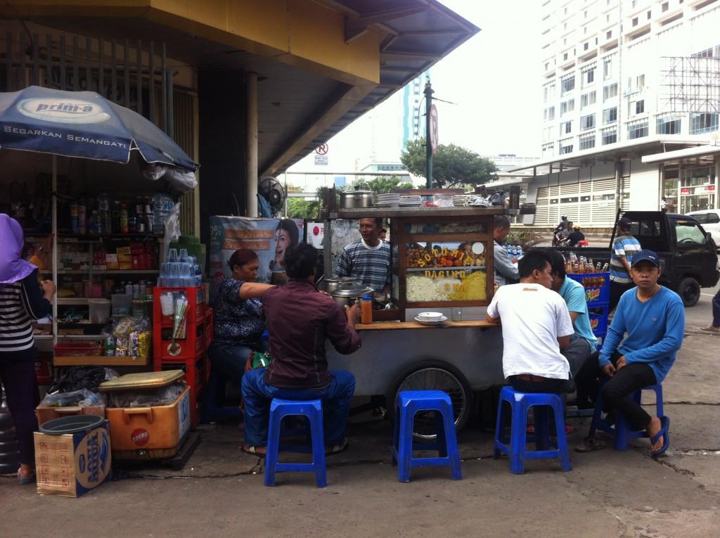 インドネシアの首都ジャカルタ