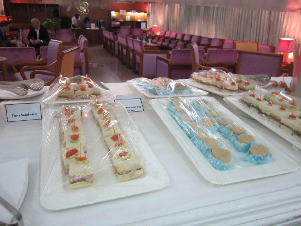 Thai Royal Orchid Lounge ケーキ