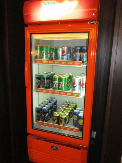 クアラルンプール国際空港ゴールデンラウンジ 缶ジュース EVERVESS
