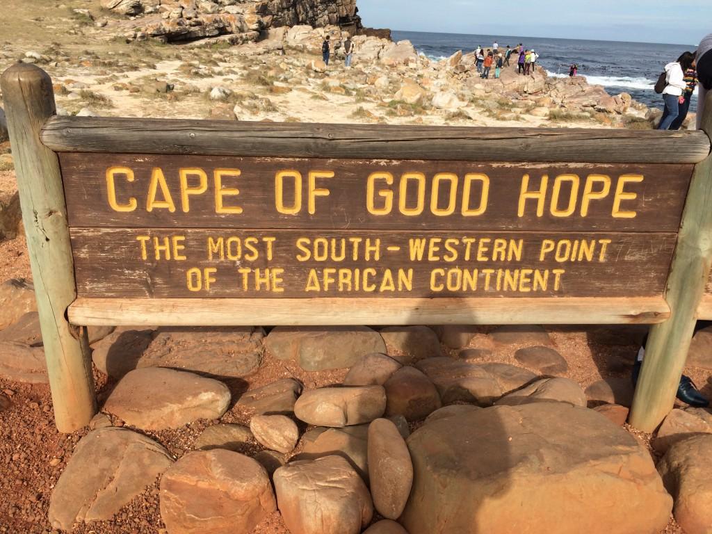 喜望峰 南アフリカ共和国西ケープ州ケープタウンの岬