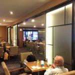 仁川空港のスカイハブラウンジは、ビュッフェの韓国料理が美味しくてお酒が進みます