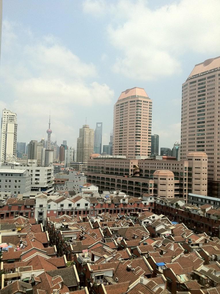 特典航空券を使って上海から帰国