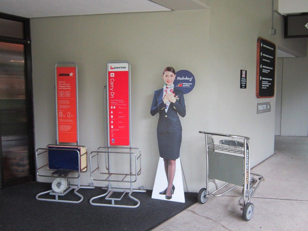 ダニエル・K・イノウエ空港 航空会社系ラウンジは2階エリア