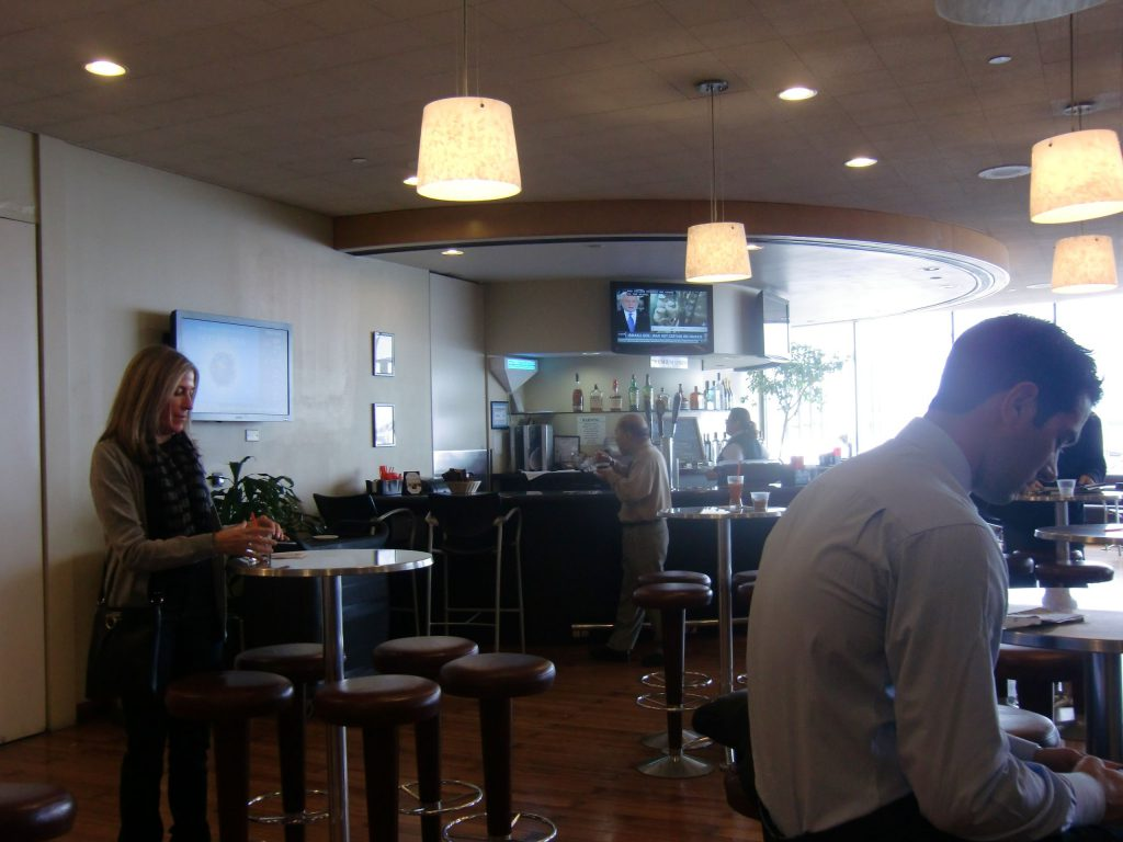 ロサンゼルス国際空港 ユナイテッドクラブ