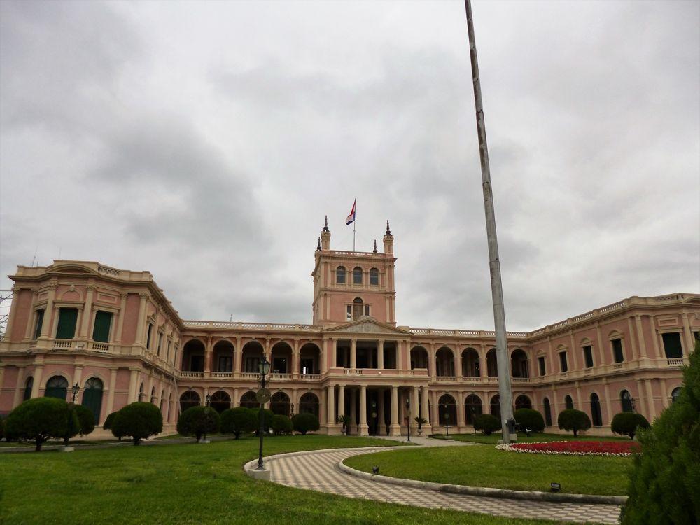 首都アスンシオンの風景