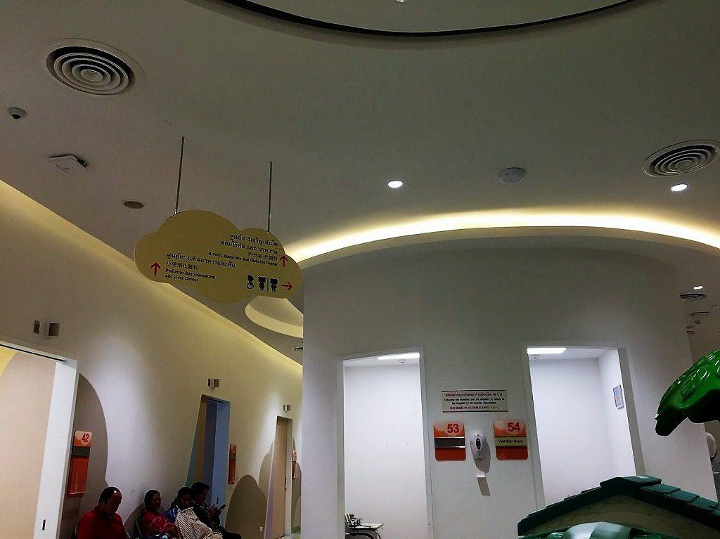 サミティヴェート・スクムウィット病院(SAMITEVEJ SUKHUMVIT)2階
