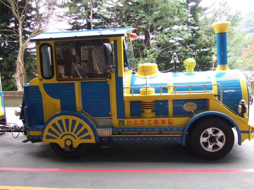 台北動物園内遊客列車