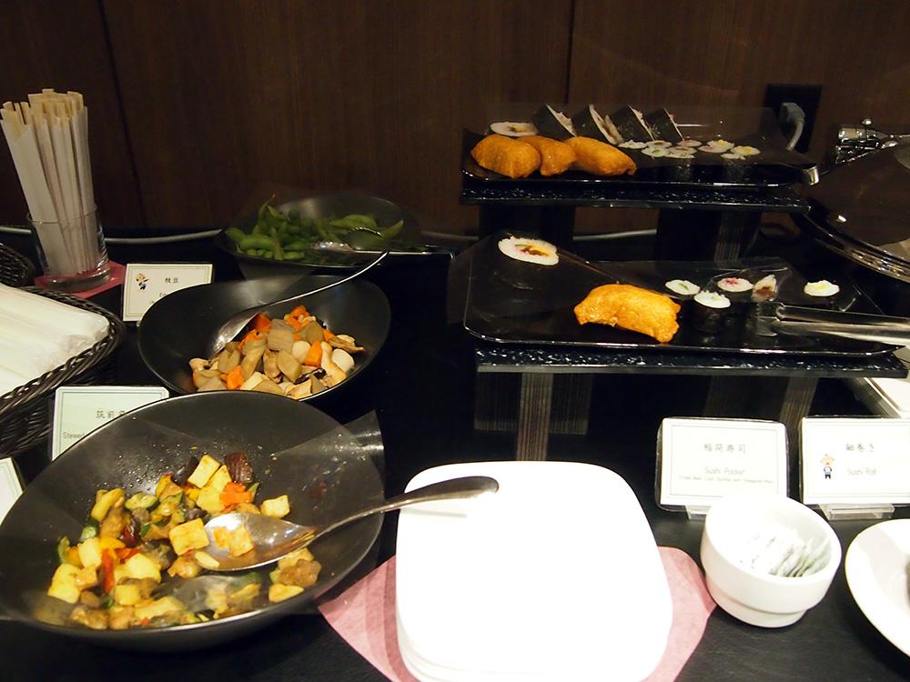 羽田空港HND_TIAT LOUNGE ANNEX 寿司や煮物 惣菜