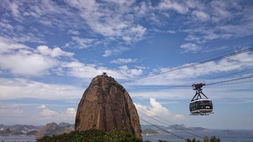 ブラジルではタクシーは現金払い。