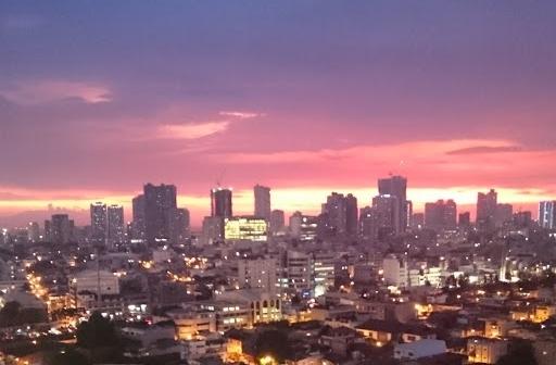フィリピンの夕暮れ